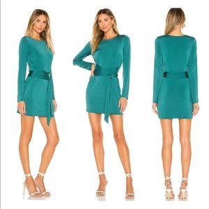 Lovers + Friends Hallie Everglade Mini Dress S